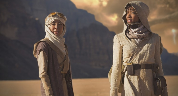 First look at Michelle Yeoh & Sonequa Martin Green on Discovery