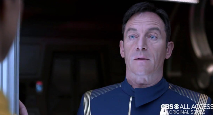 Captain Lorca (Jason Isaacs) Helps Out At the Blackpool Illuminations!